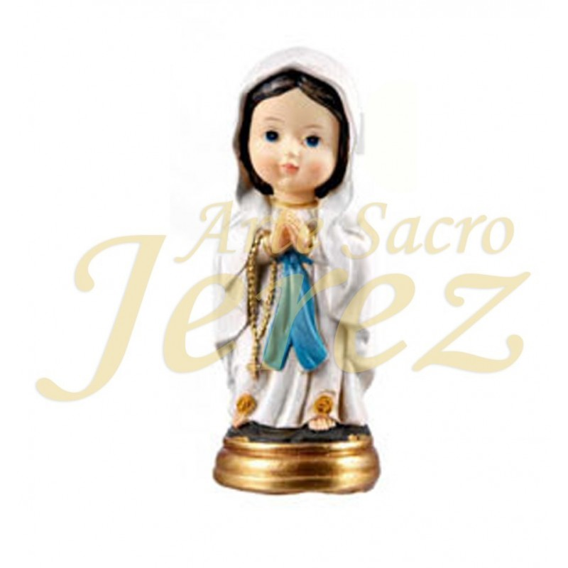 Virgencita de Lourdes 20 cm